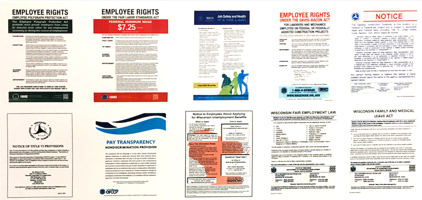 Are you in compliance with worksite Labor Law Posters?