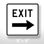 Exit Sign - 18