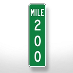 Mile Marker Sign - Custom
