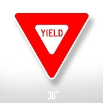 Yield Sign - 36
